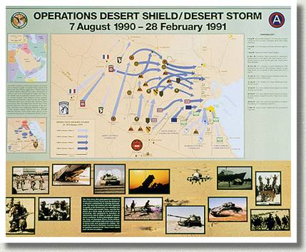 Operations Desert Shield/Desert Storm 7 August 1990-28 February 1991.