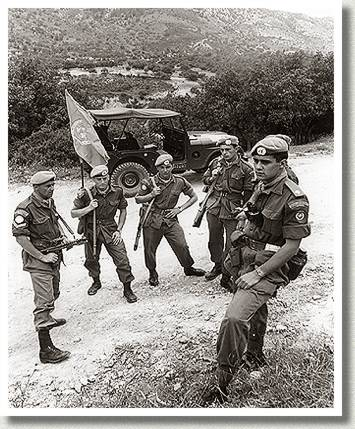 Peacekeeping Force, Kato Pyrgos, Cyprus, 15 April 1964.