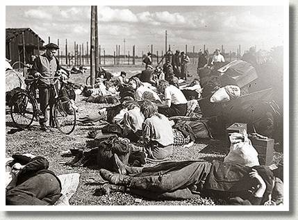Liberated Concentration Camp Prisoners, Weener, Germany, 24 April 1945.
