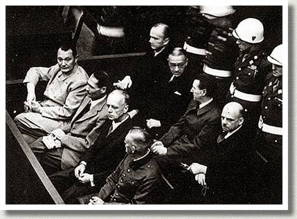 Nuremberg Trials, Nuremberg, Germany, ca. 1946-1947.