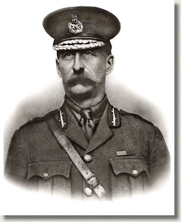 Major-General M.S. Mercer, Commander 3rd Canadian Division, ca. 1916.