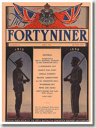 Forty-Niner Cover, 1940.
