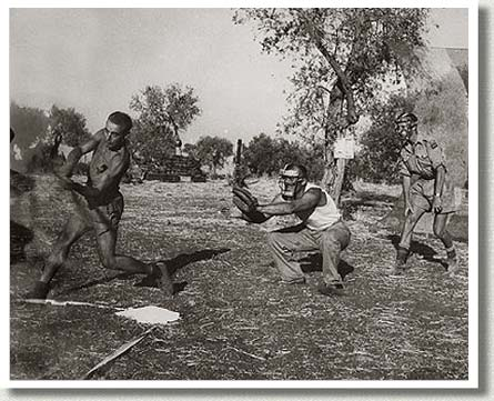 Canadians Playing Baseball, Sicily, n.d.