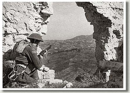 Edmonton Regiment Soldier, Colle d'Anchise, Italy, October, 1943.