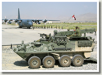 Bison Armoured Vehicle, 2003