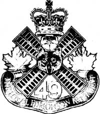 The Loyal Edmonton Regiment Cap Badge