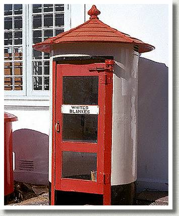 Whites-Only Phone Kiosk, South Africa, n.d.
