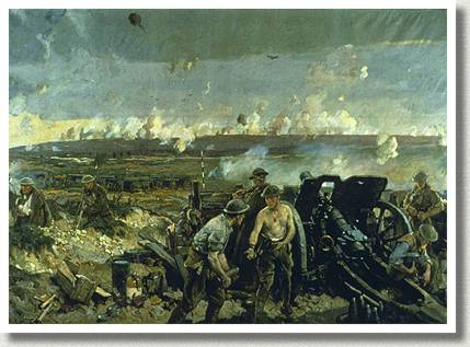 The Taking of Vimy Ridge, Easter Monday 1917, by Richard Jack.
